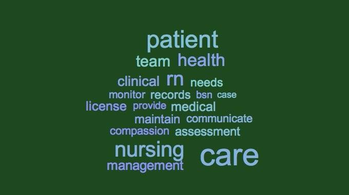 Resume Keywords for RNs Registered Nurses