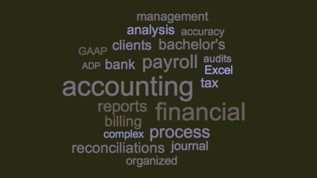 Accounting Resume Skills And Keywords Examples Jobscan Blog