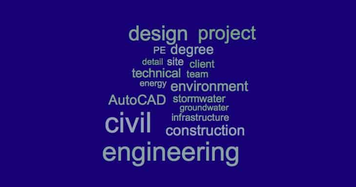 Civil Engineer Resume Keywords Examples