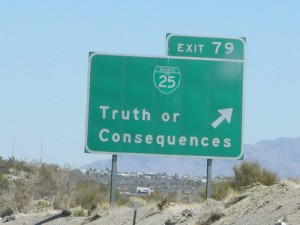 Resume lies road sign image
