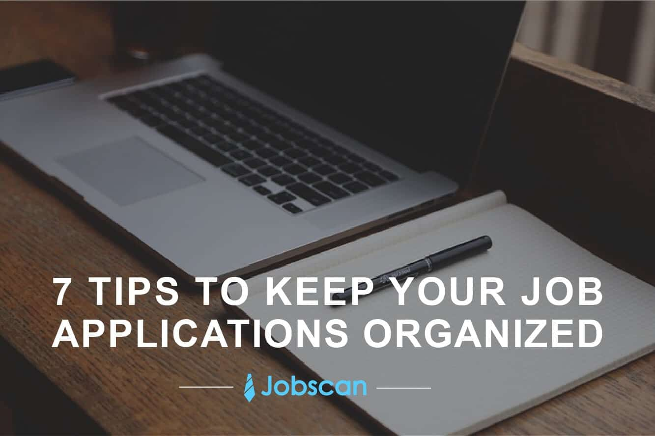 How to keep track of job applications hero image