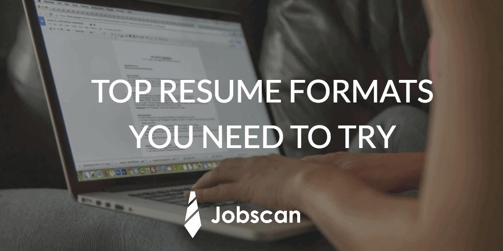 resume-formats