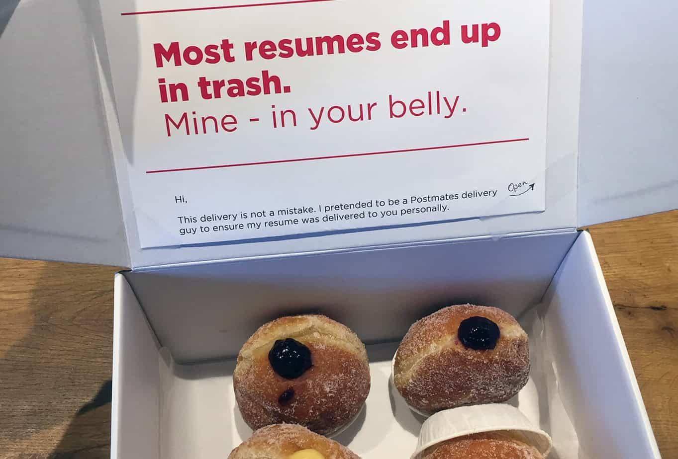 Viral Donut Resume