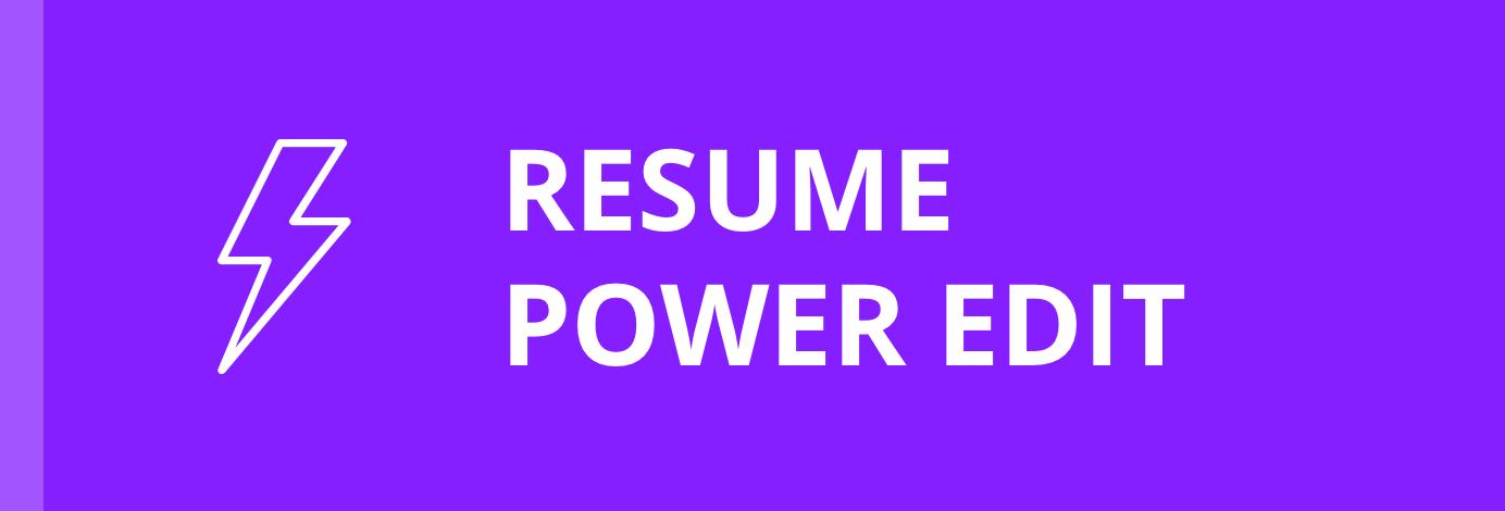 Jobscan Resume Editor