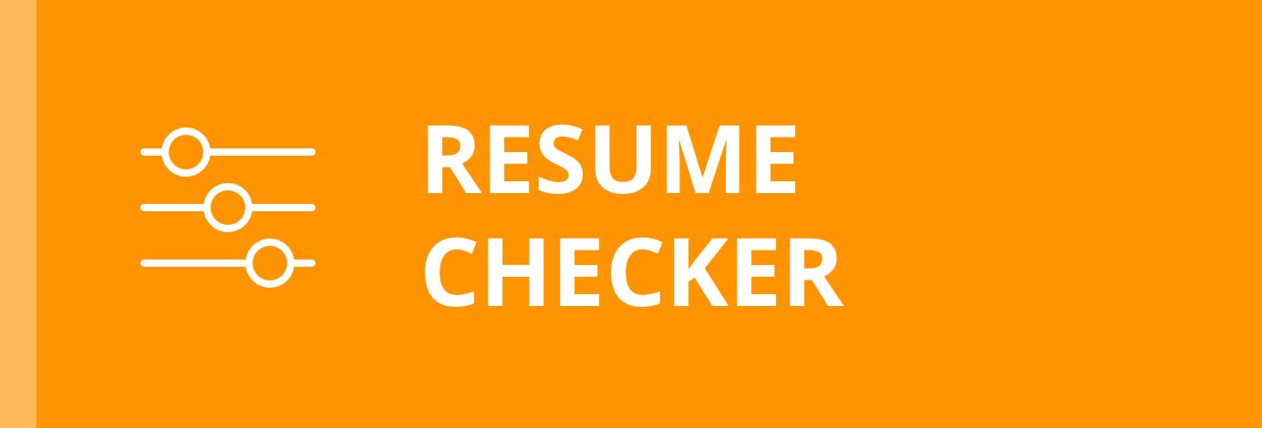 Jobscan Resume Checker