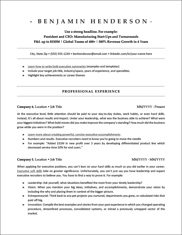 20 Ats Friendly Resume Templates Jobscan Blog