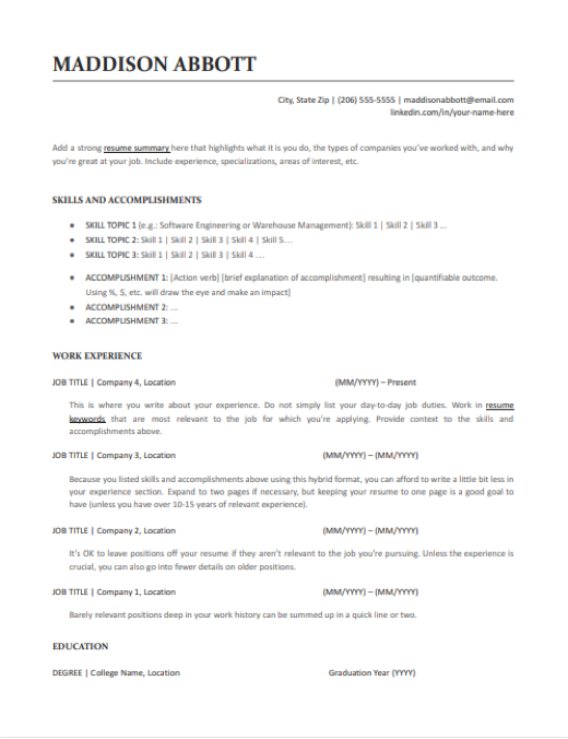 resume-templates