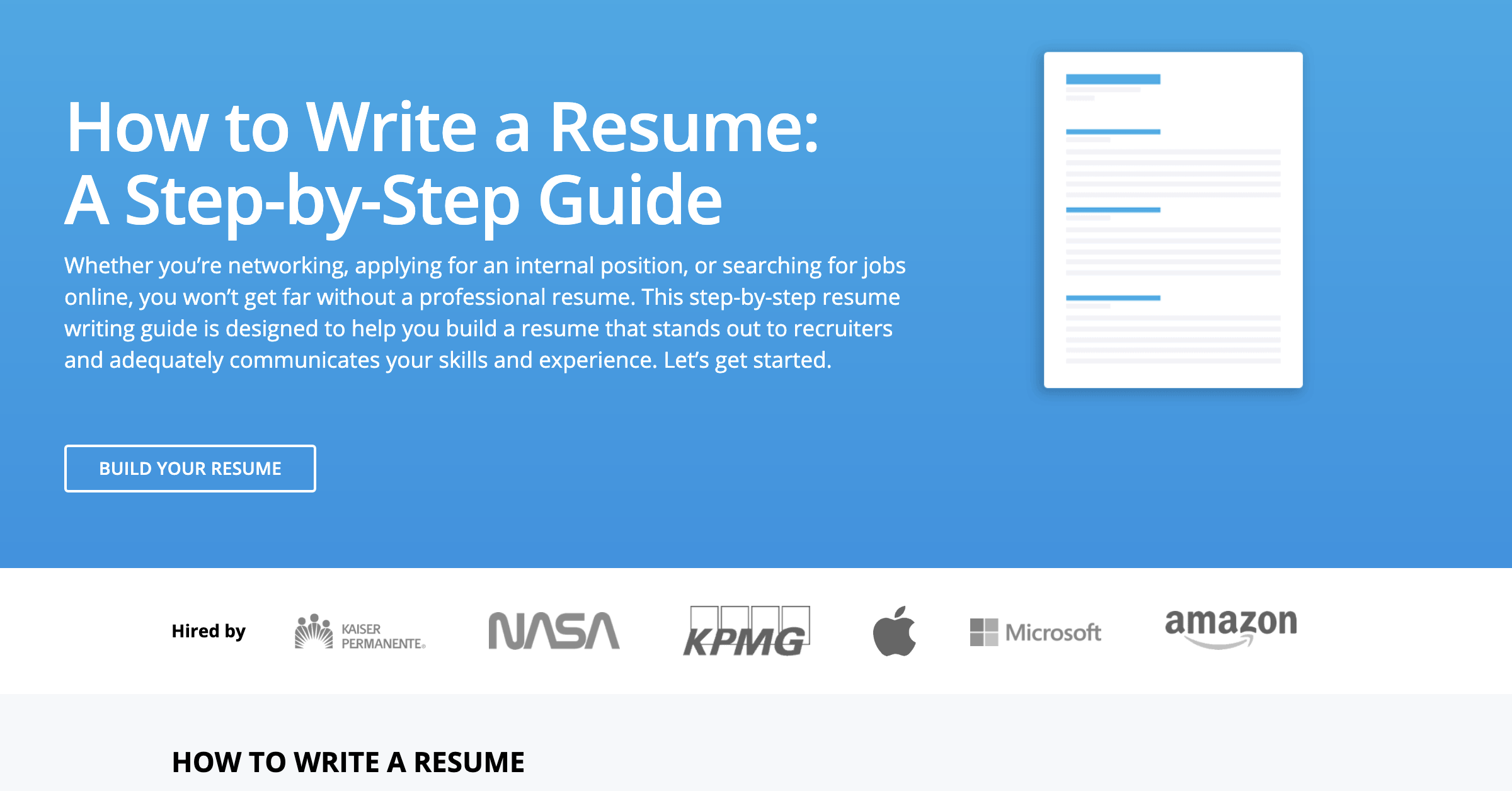 How to Make a Resume: The Grown Man's Guide   The Manual