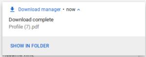 linkedin resume download