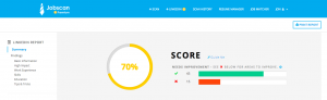 Jobscan's LinkedIn Optimization can help with the LinkedIn job search.