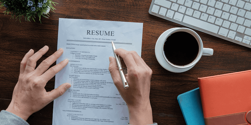 resume words on a resume