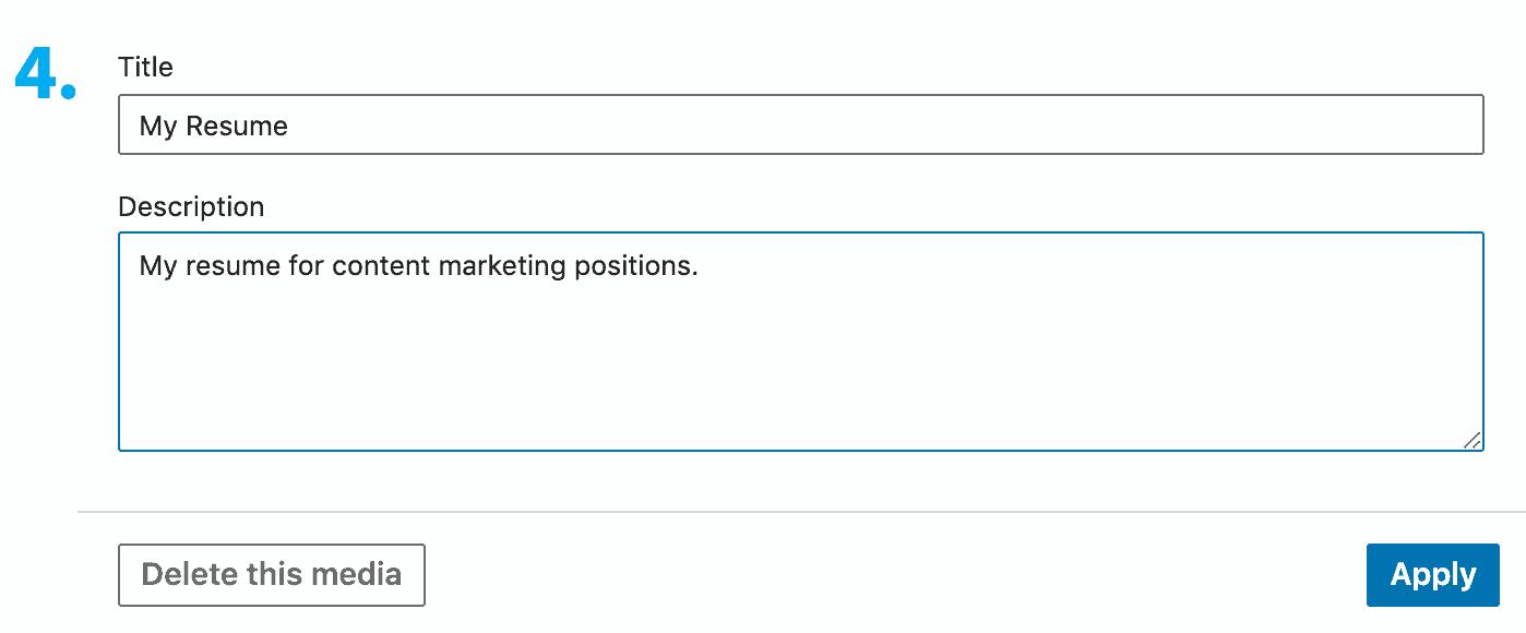 step-4-title-upload-resume-to-linkedin