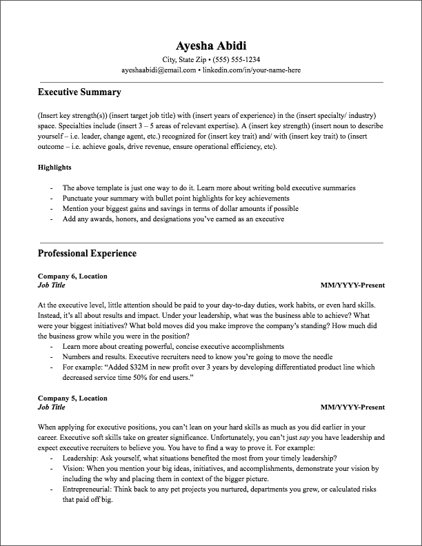 5 Years Experience Resume Format from static.jobscan.co
